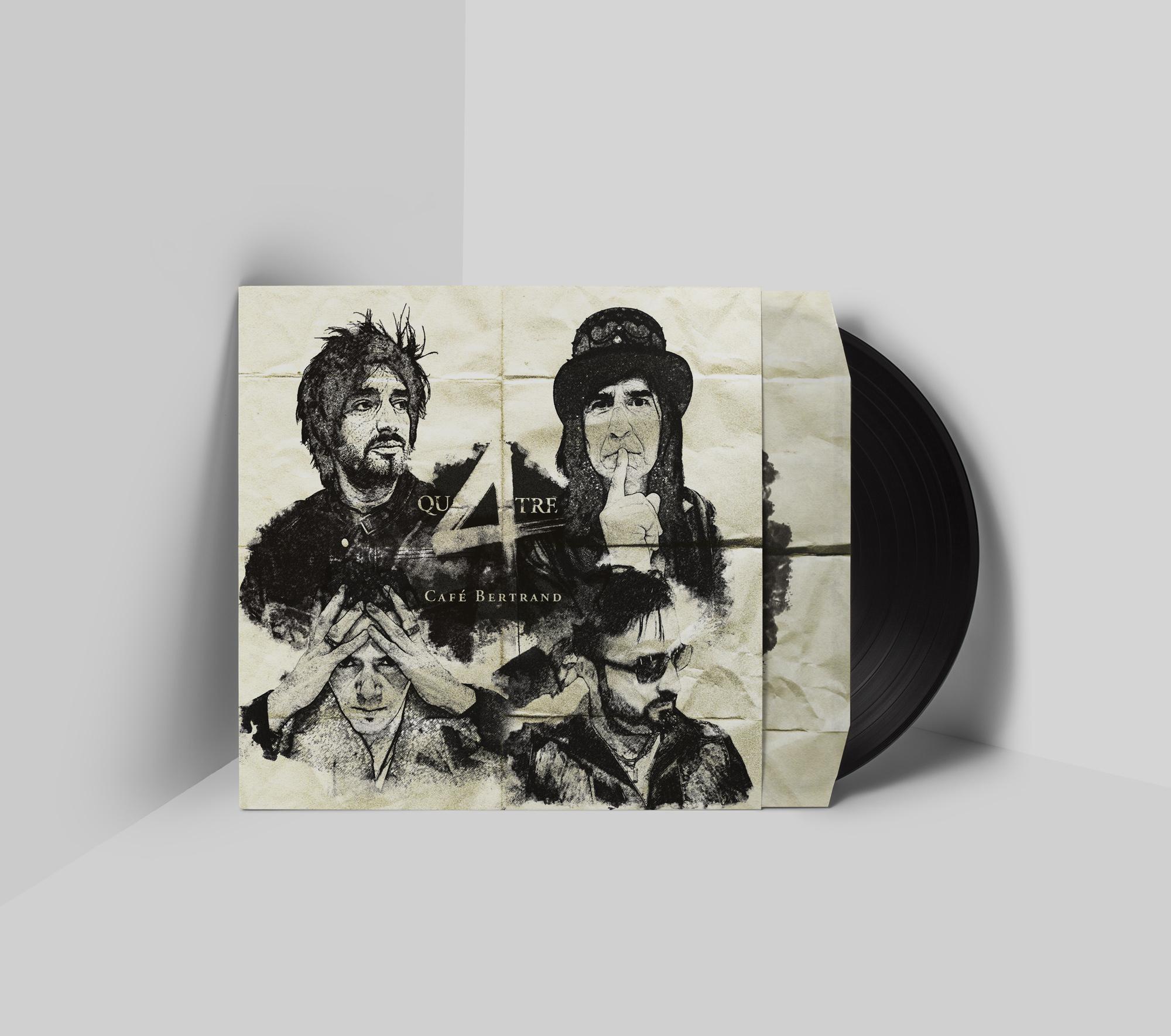 Café Bertrand - Qu4TRE vinyle