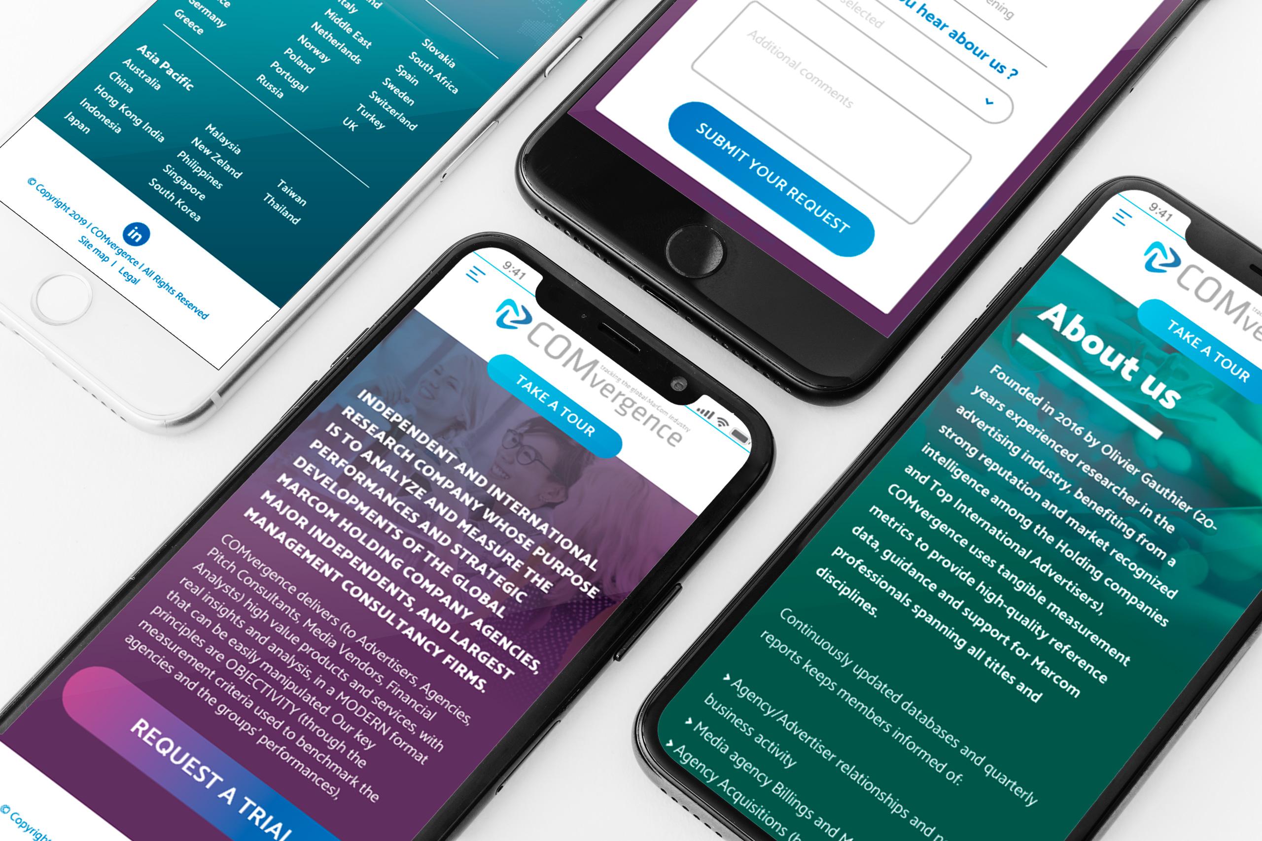 COMvergence WebSite mobile