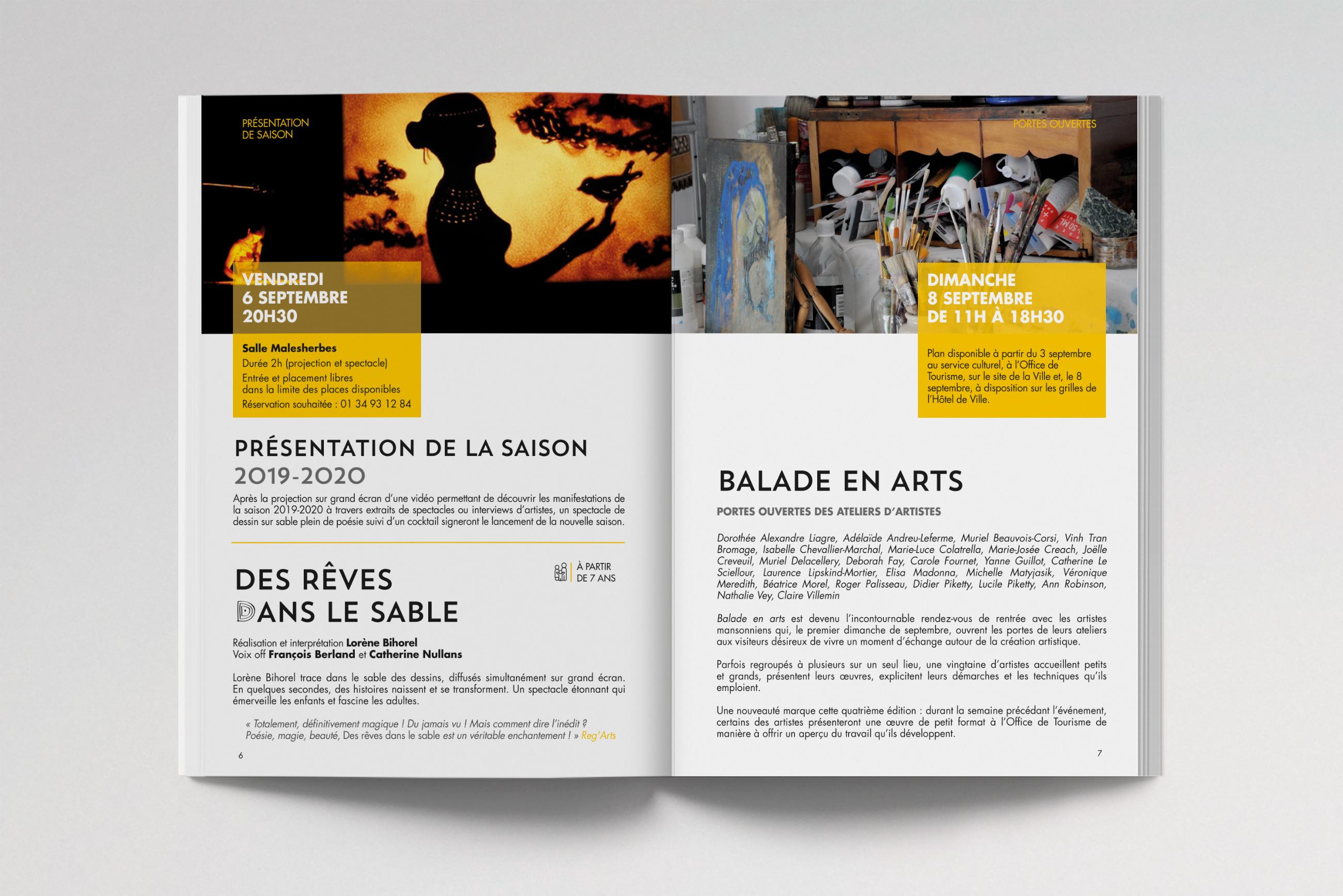 Maisons-Laffitte Saison Culturelle 2019-2020 Programme