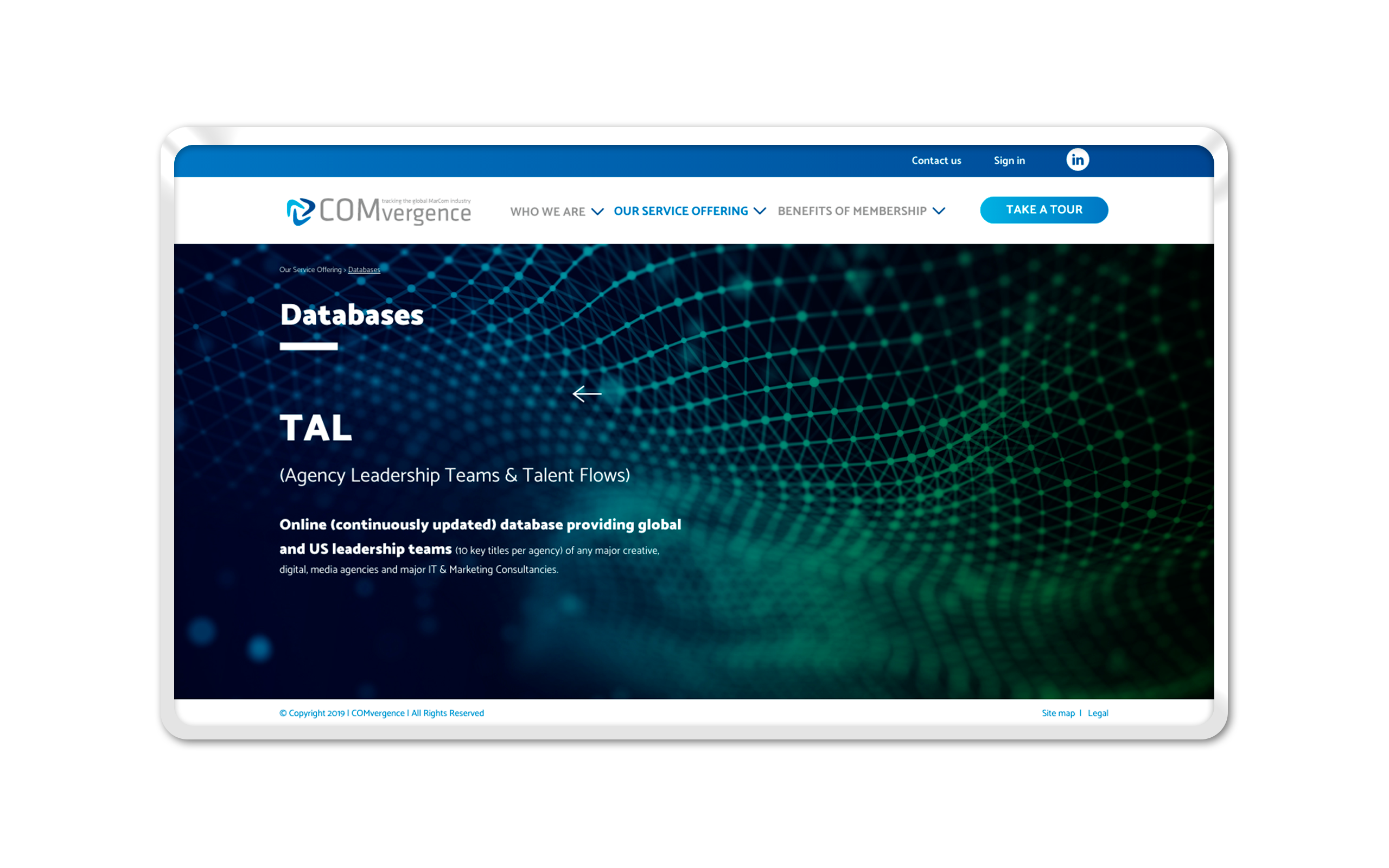 COMvergence WebSite