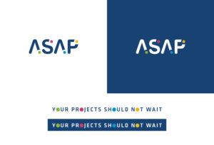 Asap logo et baseline