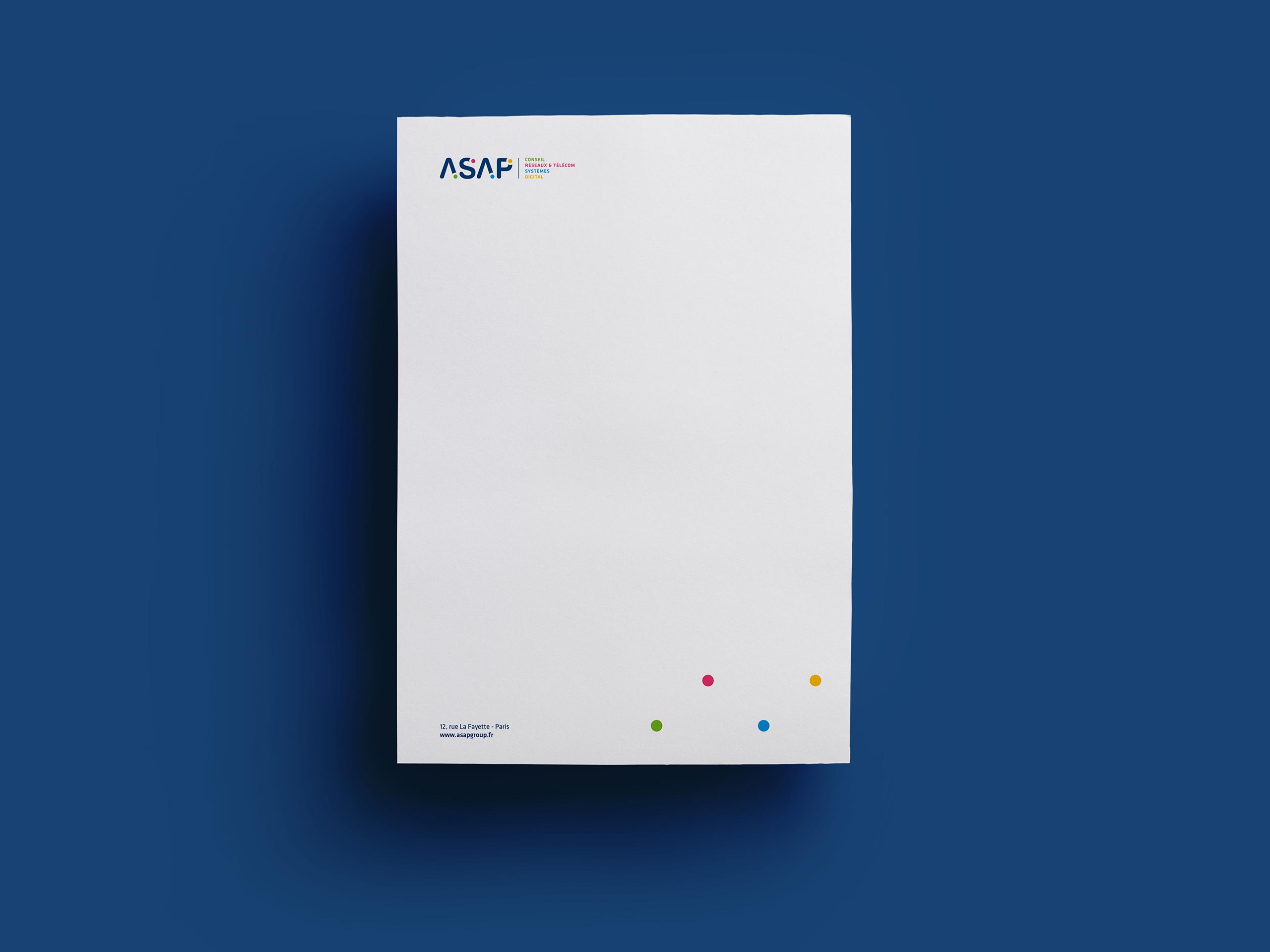 Asap letterhead