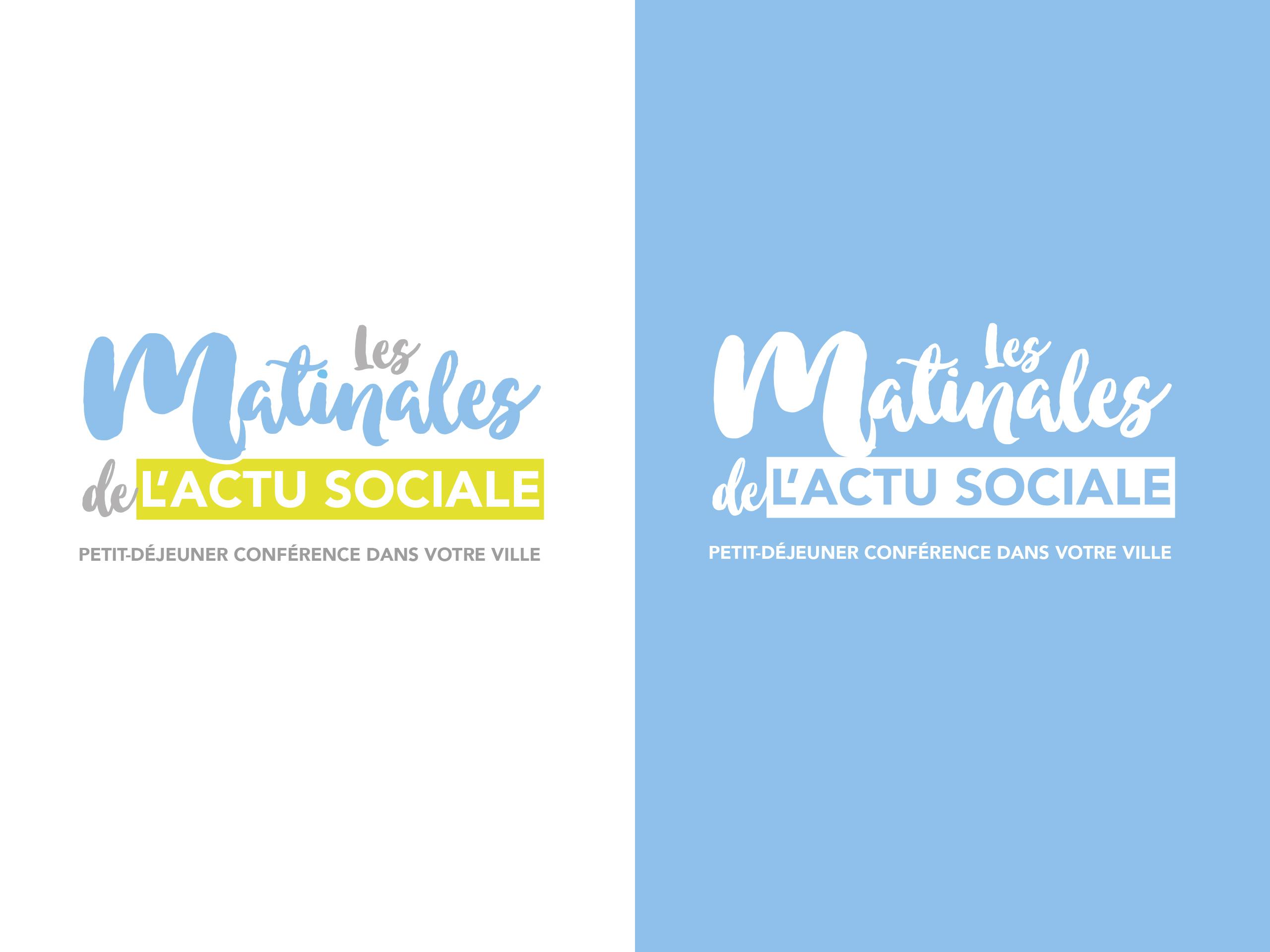 ADP matinales actu sociale logo