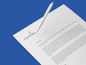Conformat letterhead zoom