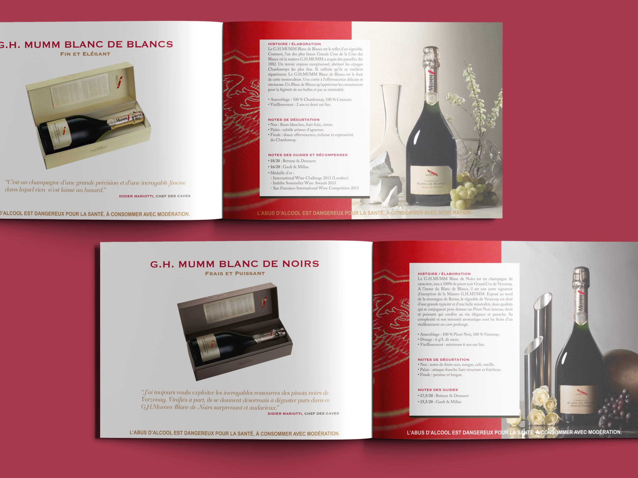 G.H. Muum Livret prestige pages produits