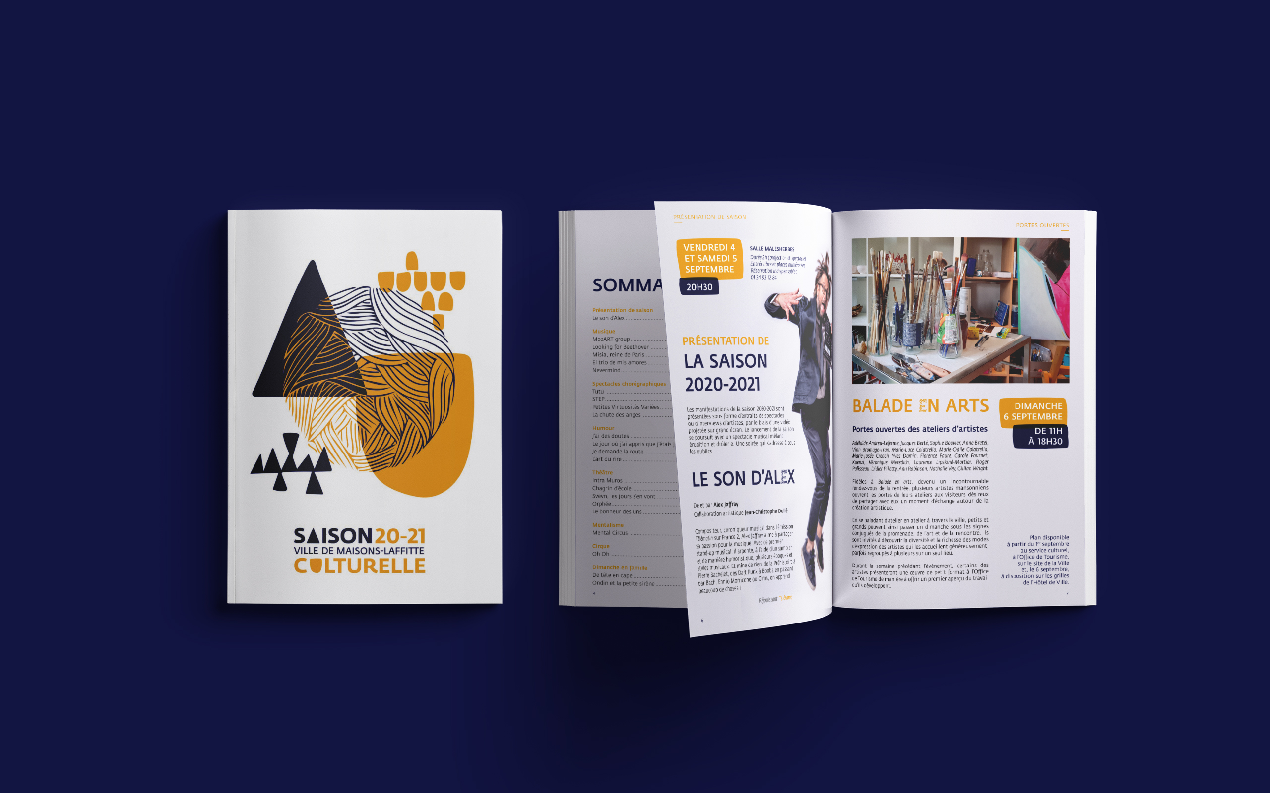 Saison culturelle 2020-2021 Maisons-Laffitte programme