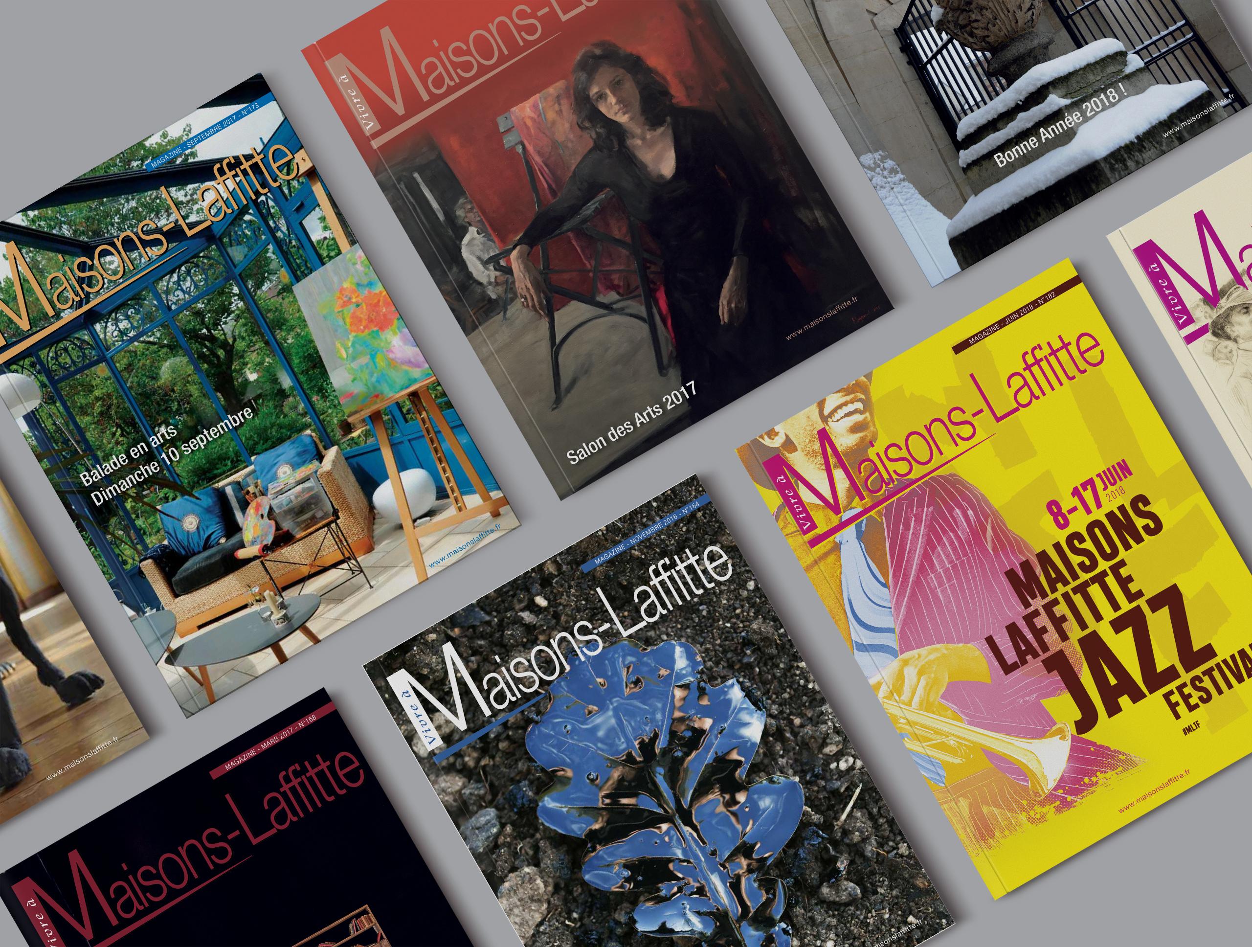 Maisons-Laffitte magazine couvertures