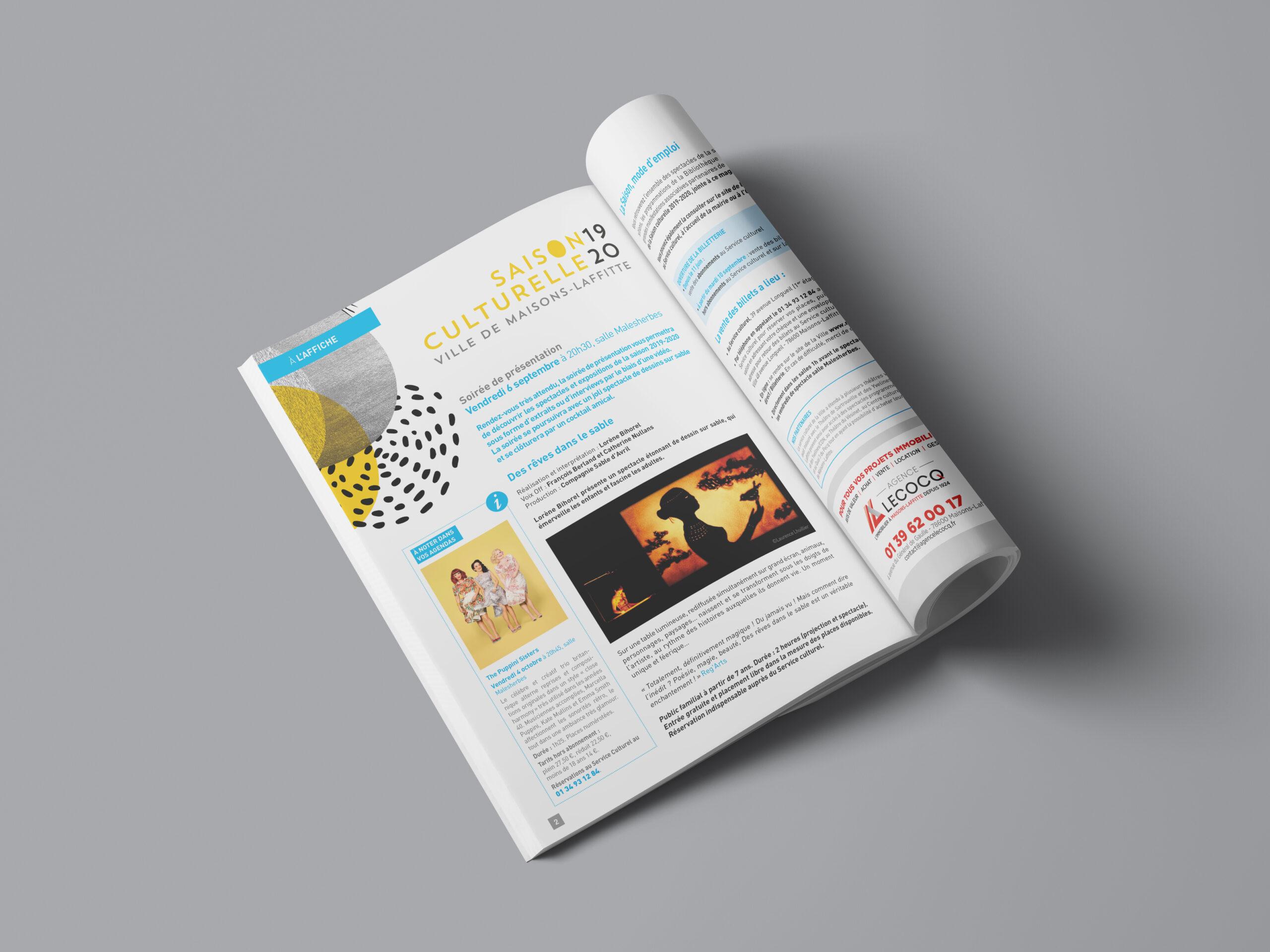 Maisons Laffitte Magazine page