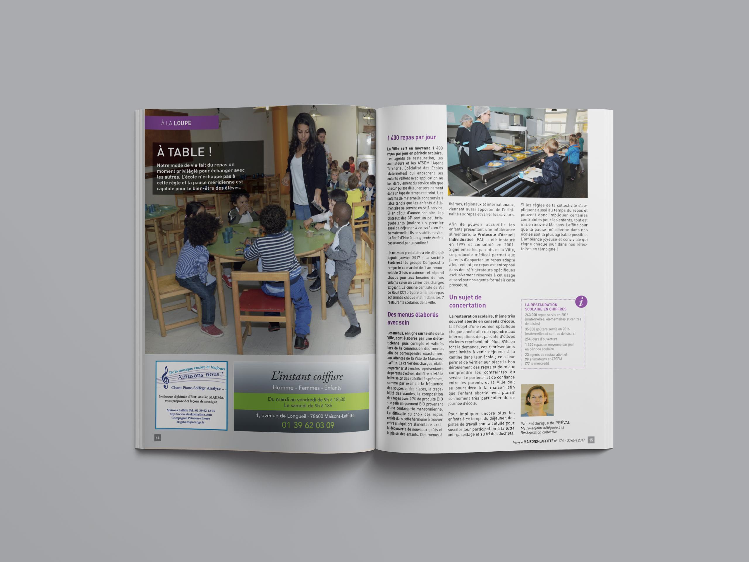 Maisons Laffitte Magazine loupe