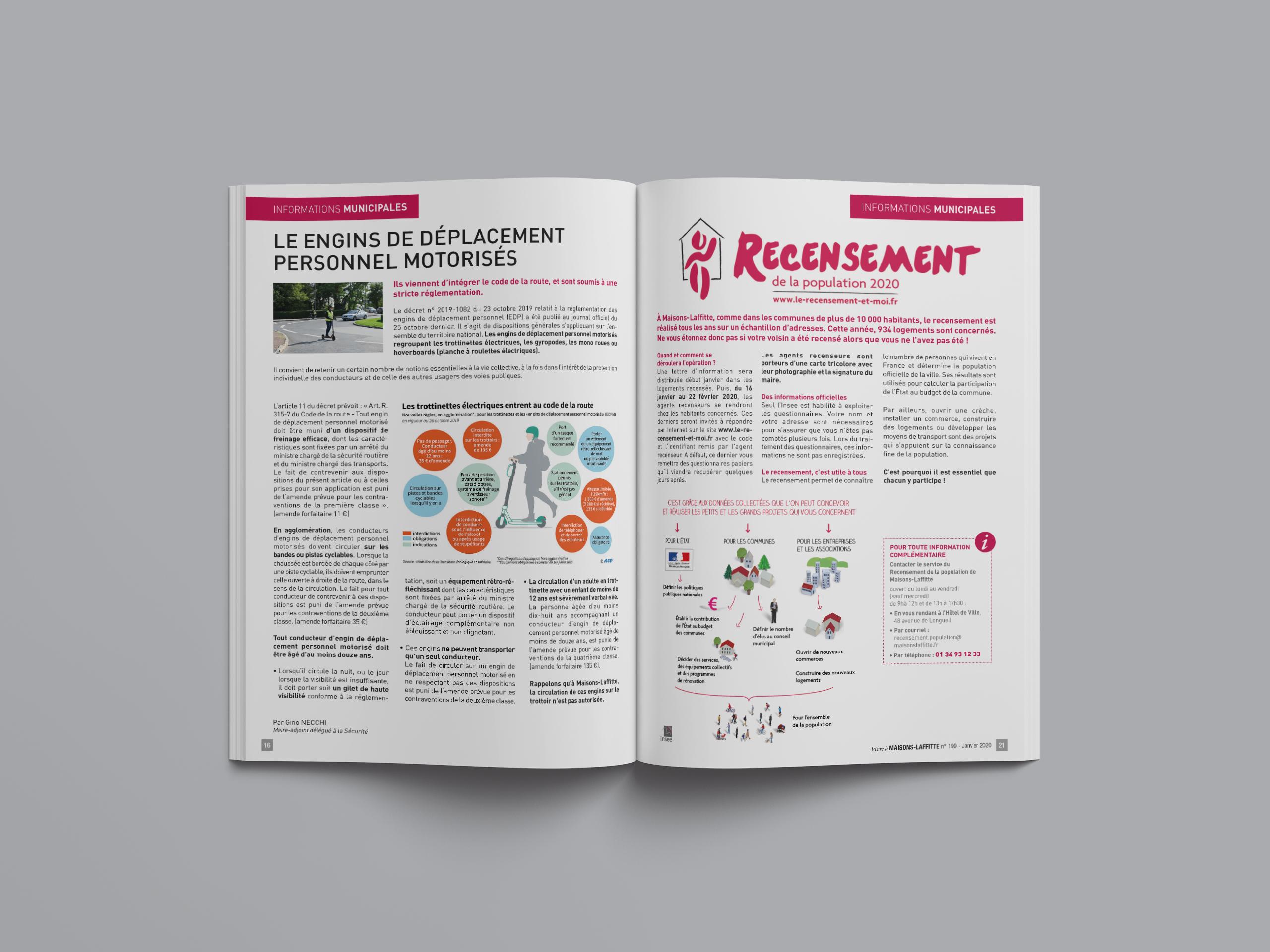 Maisons Laffitte Magazine infos