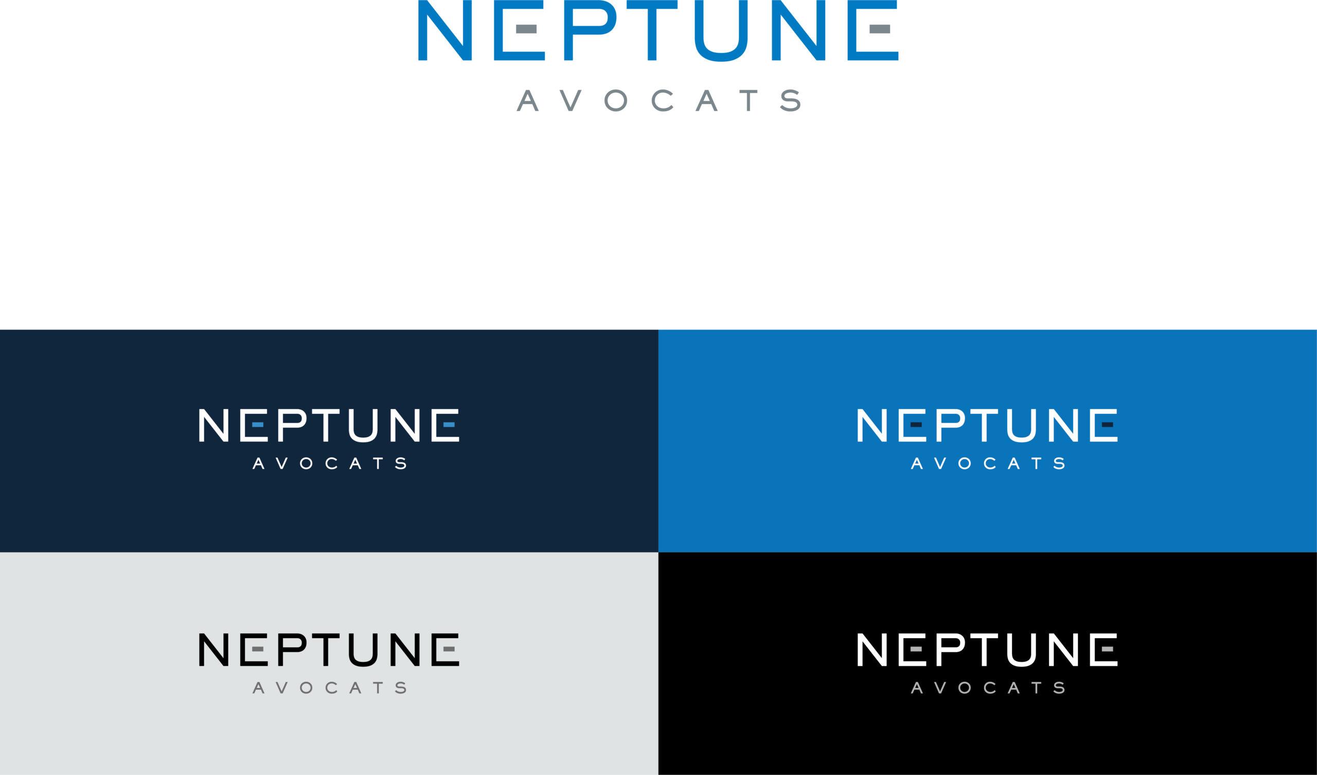 Neptune Avocats identité logo