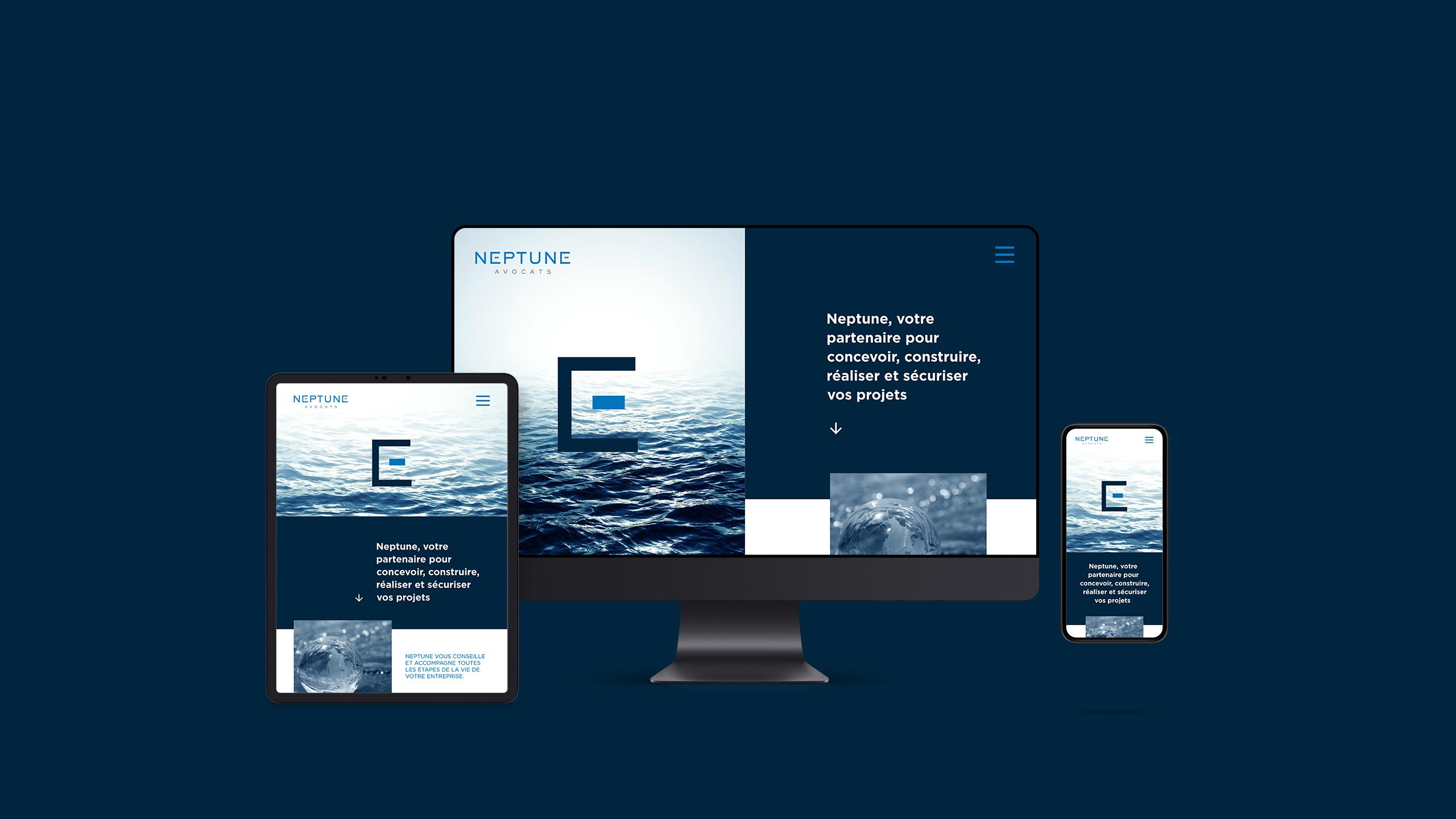 Neptune Avocats identité site