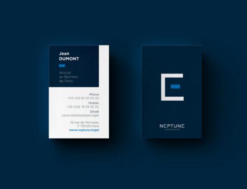 Identité visuelle // Neptune Avocats