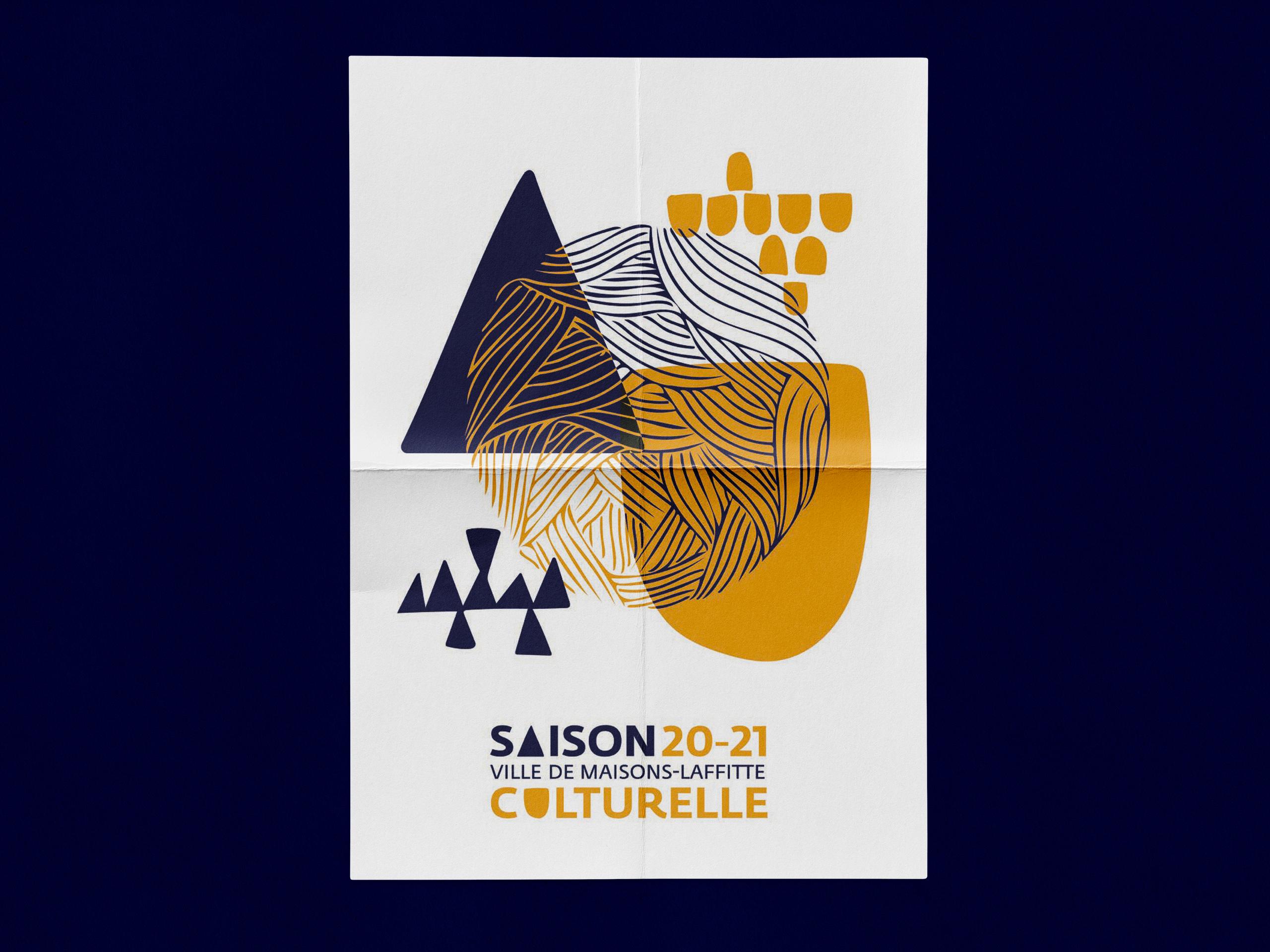 Saison culturelle 2020-2021 Maisons-Laffitte affiche