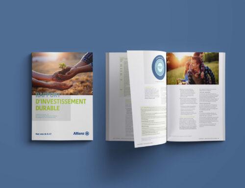 Rapport investissement durable // Alianz