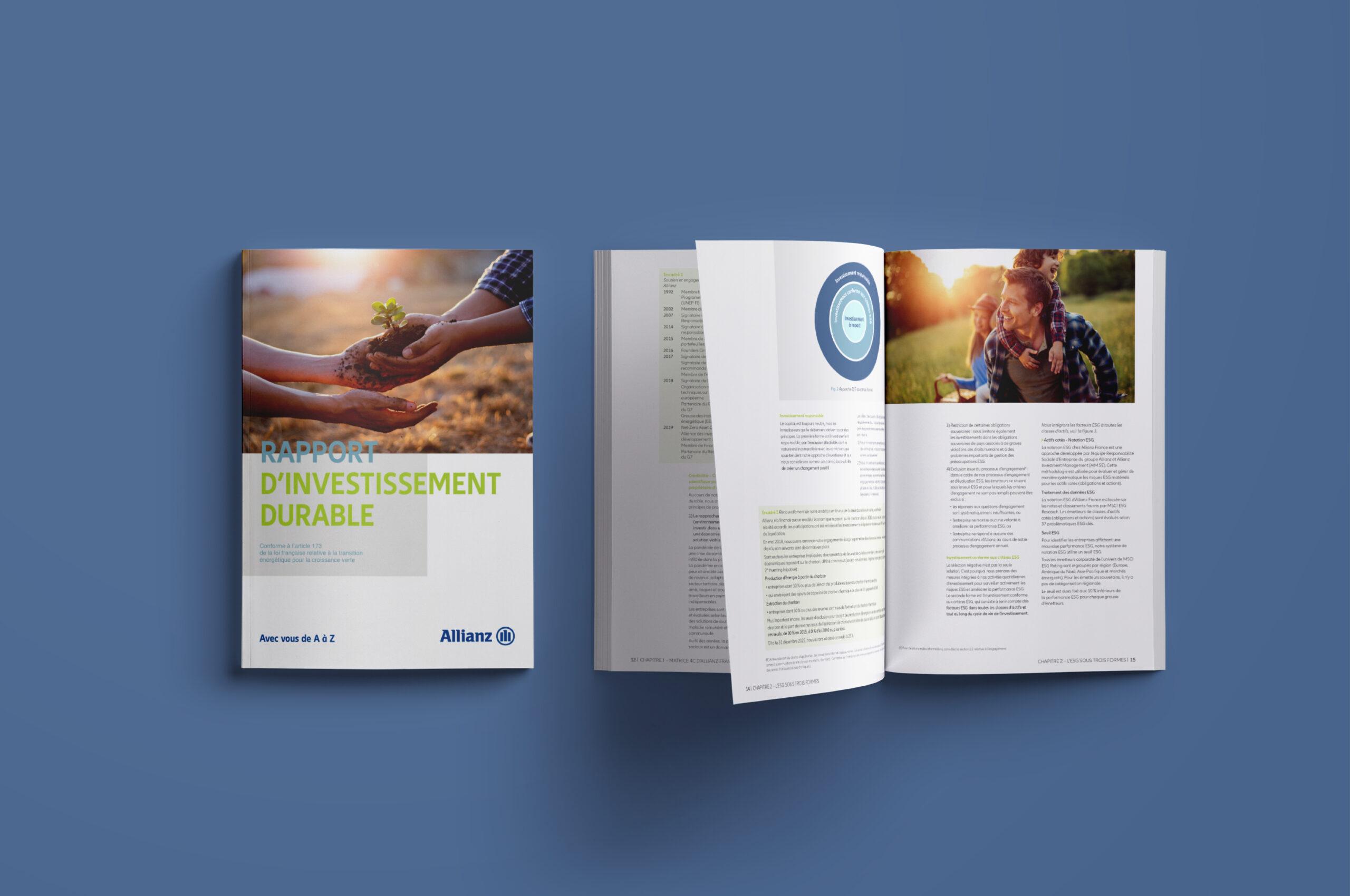 Rapport investissement durable allianz 1