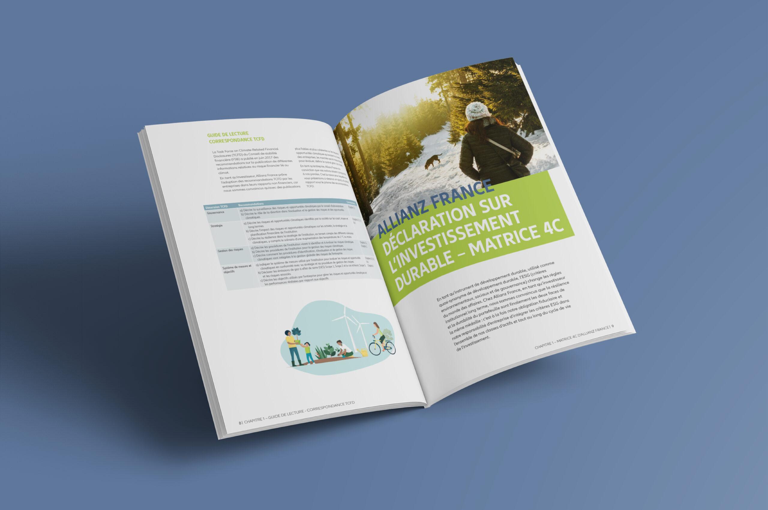 Rapport investissement durable allianz 2