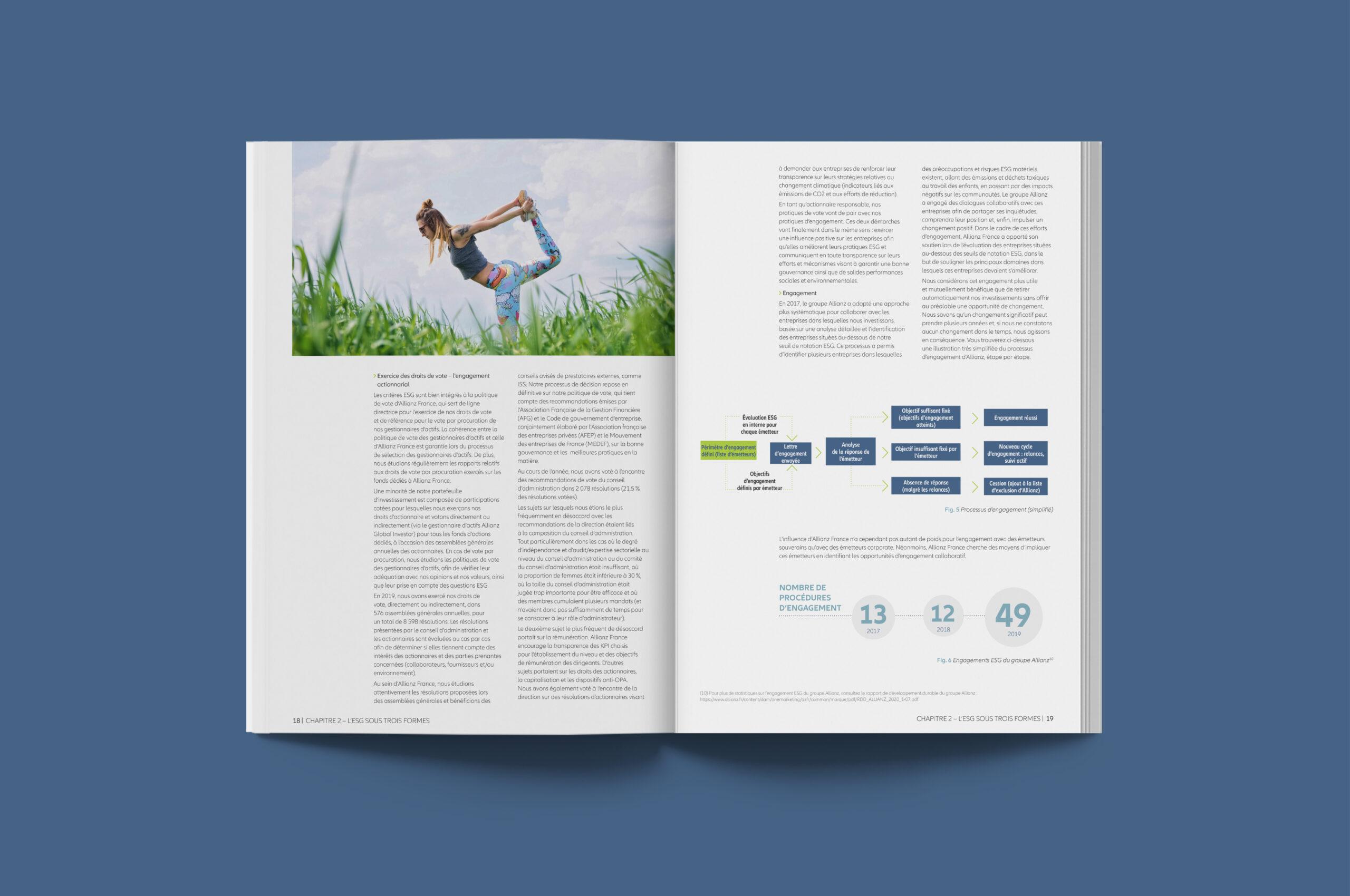 Rapport investissement durable allianz 5