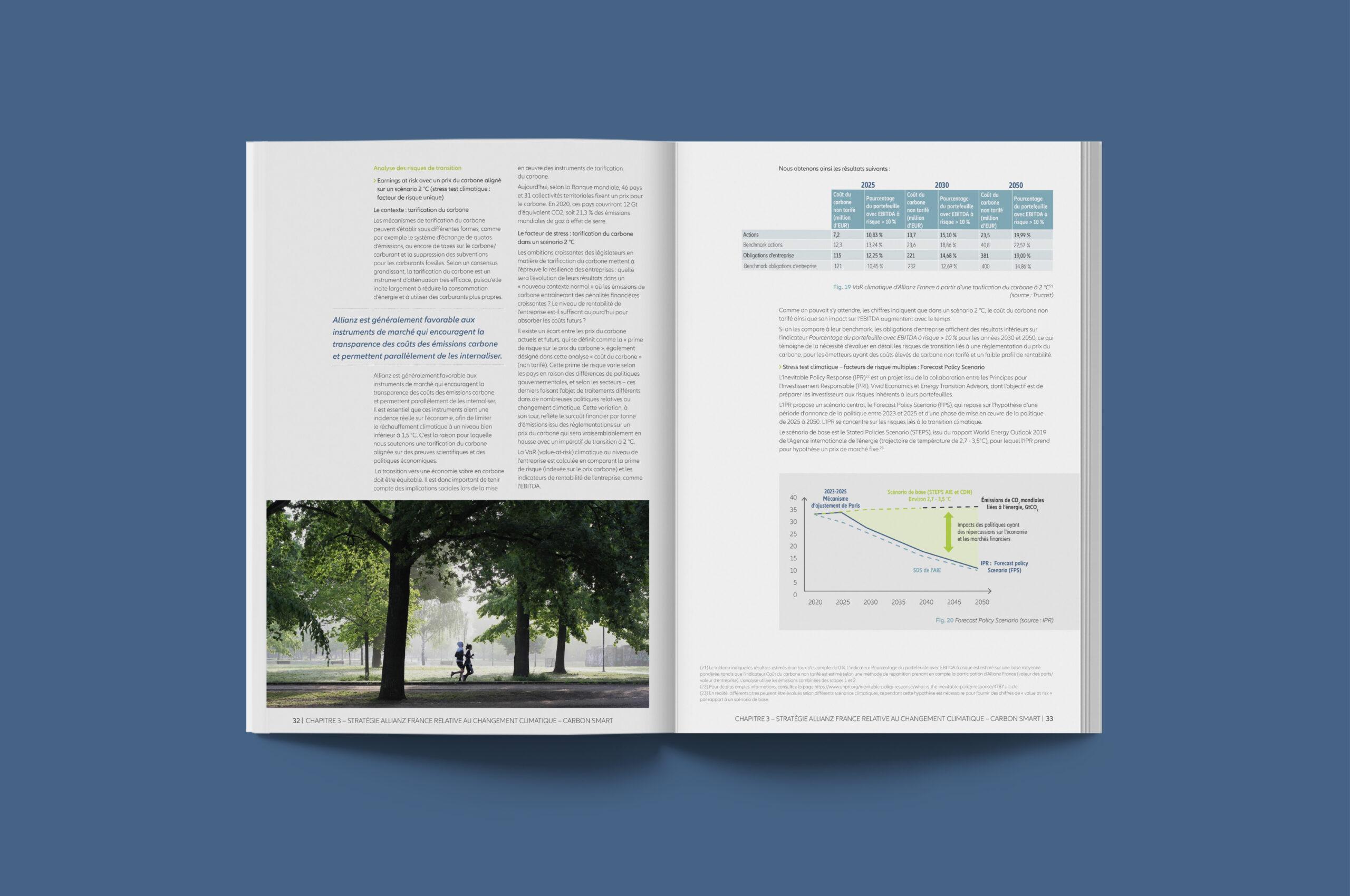 Rapport investissement durable allianz 7