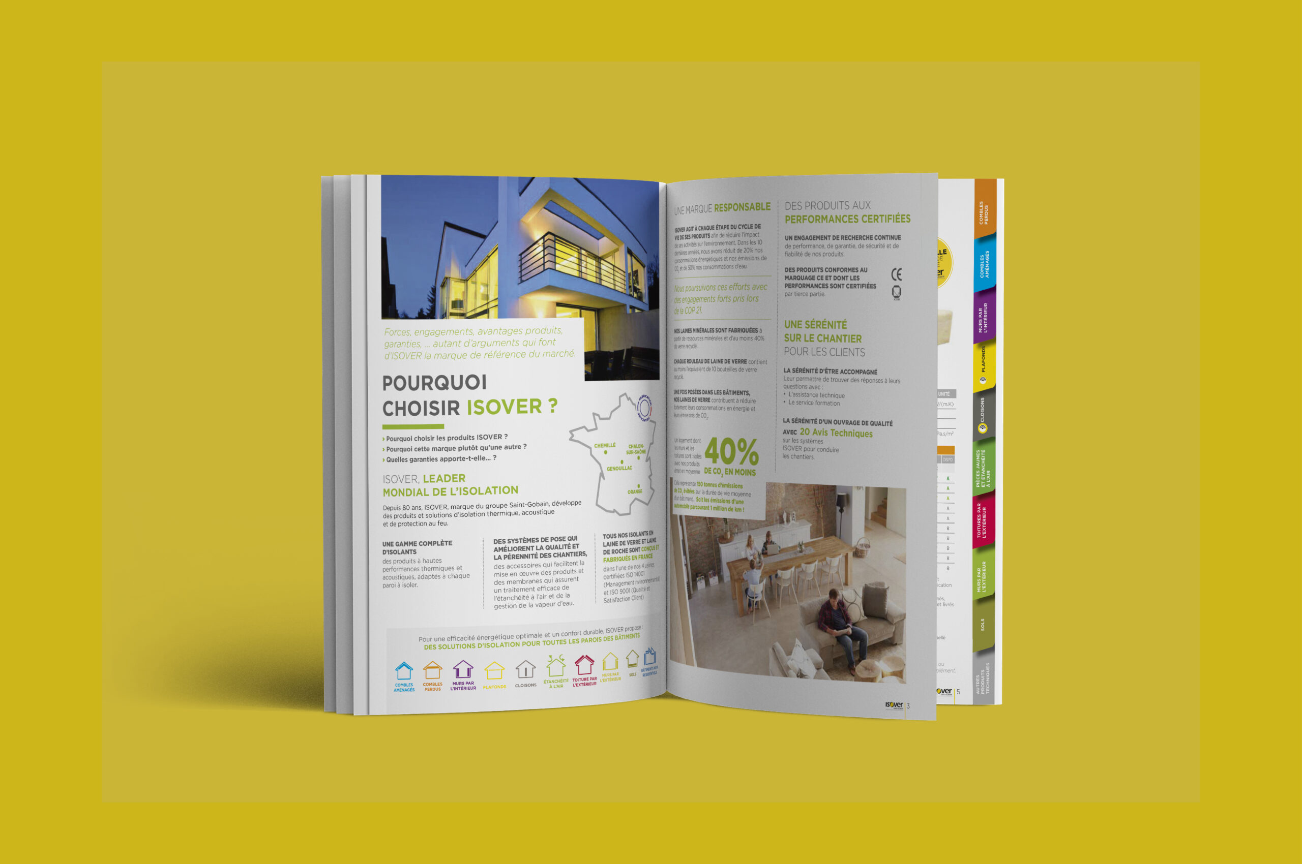 Catalogue Isover Intérieur